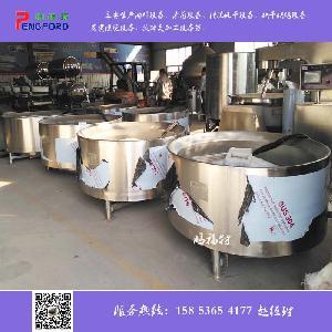 猪头猪蹄脱毛松香锅 自动控温导热油黄香锅 厂家鹏福特