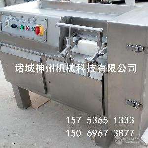 直销冻肉切丁机 切块机 食品加工设备 肉制品加工设备