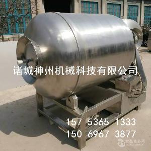 不锈钢真空滚揉机 鸡肉条腌制机