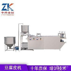 厂家供应自动豆腐皮机 小型豆腐皮机