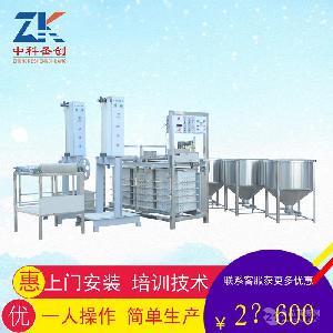 淮南自动千张机,仿手工豆腐皮机厂家