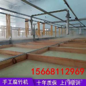 淮安小型腐竹生产设备 手工腐竹机多少钱一套