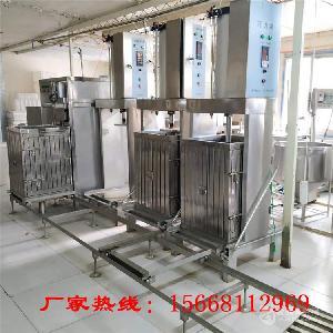 自动豆腐干机,做豆腐干的机器厂家培训