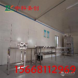 绍兴大型豆腐生产设备,冲浆豆腐机厂家培训技术
