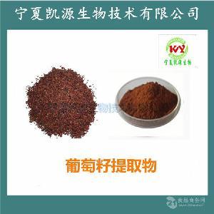葡萄籽提取物 葡萄籽原花青素95% 喷雾干燥 全水溶  比例提取