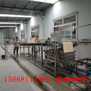 嘉兴大型豆腐皮机,压箱循环豆腐皮生产线设备