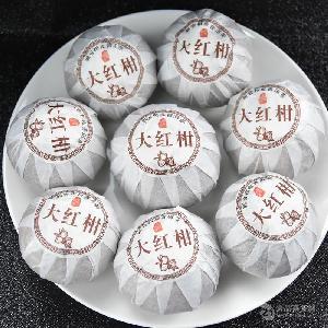新御承新會大紅柑格天馬生曬大紅柑柑普茶500g/袋