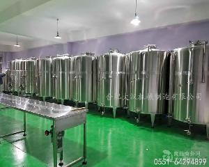 果酒酿酒设备|年产500吨猕猴桃酒生产线投资方案|水果酒酿造工艺