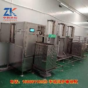遵义烟熏豆腐干机 数控烟熏豆腐干机生产线多少钱