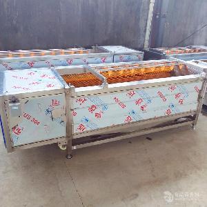 毛辊土豆红薯去皮清洗机