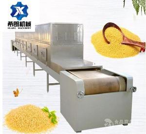 供应荞麦片微波灭菌设备-山东希朗微波设备
