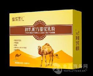 新疆骆驼奶厂家长期供应益生菌配方驼奶粉400g