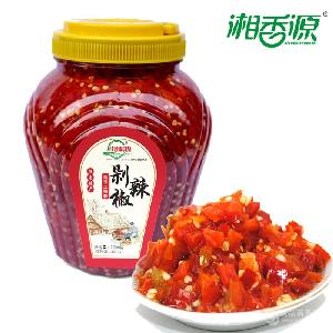 湘香源精致剁辣椒2kg /20kg