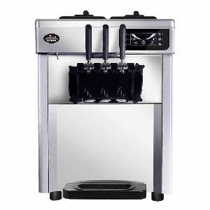 出租冰淇淋机 三色软冰淇淋机出租