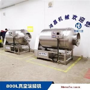 专业厂家出品500公斤真空滚揉机 肉加工设备
