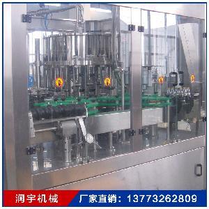 含气饮料设备灌装生产线 三合一全自动液体灌装机