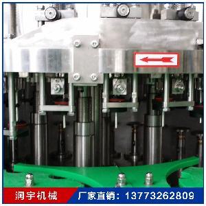 热销三合一灌装机 果汁瓶装水啤酒生产设备