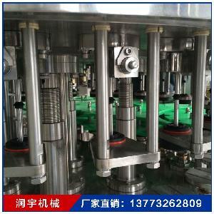 新型全自动瓶装水灌装机生产线 小型纯净水生产设备
