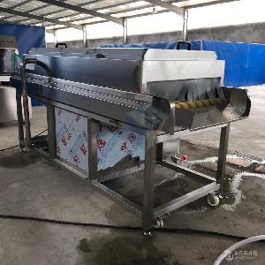 牡蛎清洗机设备厂家 海产品去泥清洗流水线 洗海蛎子机器