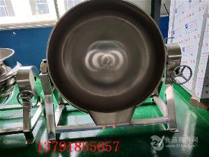 厂家热卖 辣椒酱炒锅 可倾式夹层锅