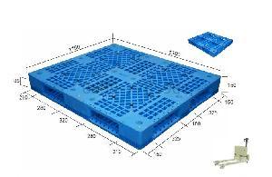 塑料托盘生产厂家 1311 田字网格塑料托盘