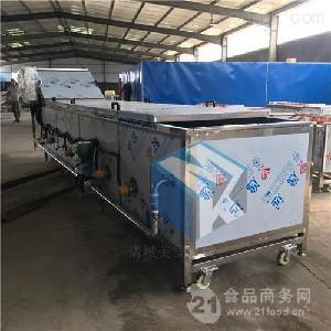 水浴式巴氏杀菌机流水线  电气两用杀菌冷却流水线设备