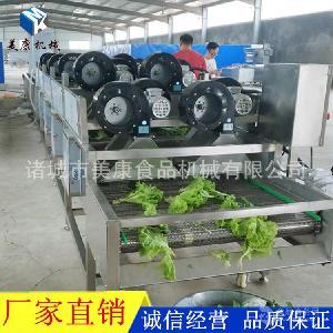 专业生产全自动酱菜清洗风干线 腌制酱菜沥水风干线设备