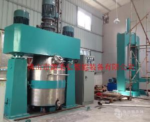 硅酮玻璃膠生產設備 600L 1100L強力分散機