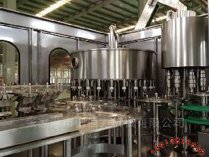 全自动矿泉水生产线 纯净水三合一灌装机