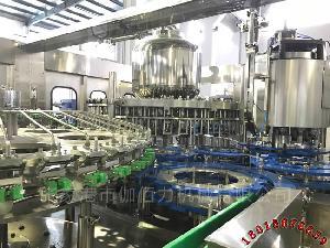 小瓶装饮料自动包装生产线 果汁饮料灌装机