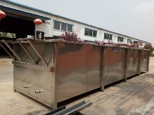 厂家直销鸡鸭烫池 家禽烫毛机 翻转式鸡鸭鹅烫毛设备