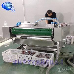 万宏牌滚动式真空包装封口机肉制品农作物蛋制品真空包装不锈钢
