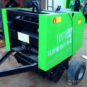 全自動四輪拖拉機帶動牽引式 玉米秸稈小麥秸稈撿拾打捆機