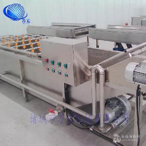 厂家直销湖北 小龙虾清洗机 生产流水线设备 不锈钢材质