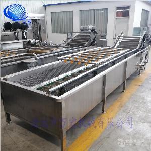 中藥材清洗 三七清洗機 不銹鋼材質 變頻輸送出料