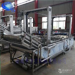 厂家直销 江苏小龙虾清洗机 生产流水线加工设备 不锈钢材质