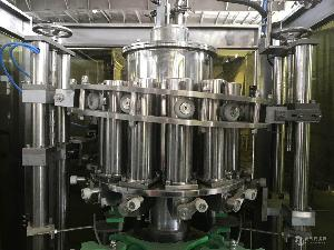 张家港市润宇机械玻璃瓶灌装机三旋盖易拉盖