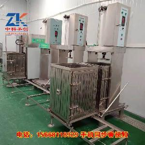 顾县牛皮豆腐干机器 全自动豆腐干机械设备厂家直销