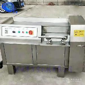 厂家直销350型肉类切丁切条机牛羊肉冻品切丁机不锈钢材质