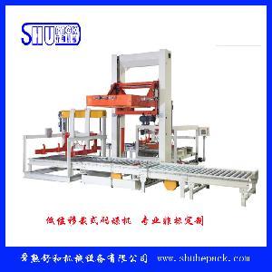 常熟舒和厂家直销SH-MD01-L移栽式码垛机低位码垛机质量保证