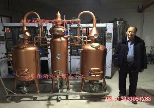 夏朗德蒸馏器 酿酒设备 果酒酿酒设备 大汉果酒设备