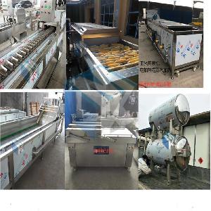 吉林速冻玉米加工成套流水线设备  玉米清洗漂烫流水线