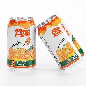 上海康师傅饮品=310ml罐装每日C橙汁饮品批发代理价