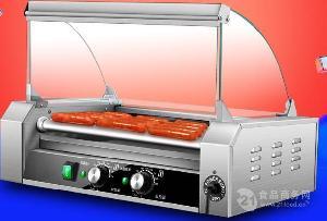 来博热狗不锈钢烤肠机价格