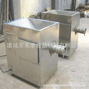 定制专业不锈钢冻肉绞肉机 美康生产肉制品绞肉设备