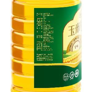福益德物理压榨非转基因玉米胚芽油5L