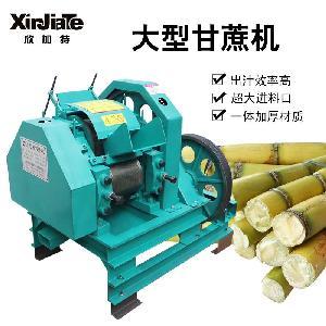 糖厂设备工业甘蔗榨汁机 欣加特厂家大型大马力甘蔗压榨机