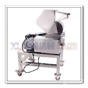 商用无尘药材板栗多用破碎机可定制除尘器
