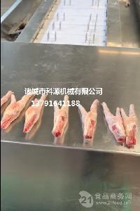 鸡爪加工设备 凤爪快速切割机