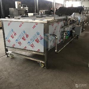 全自动黑玉米专用连续式蒸煮机 糯玉米蒸煮机器蒸汽加热